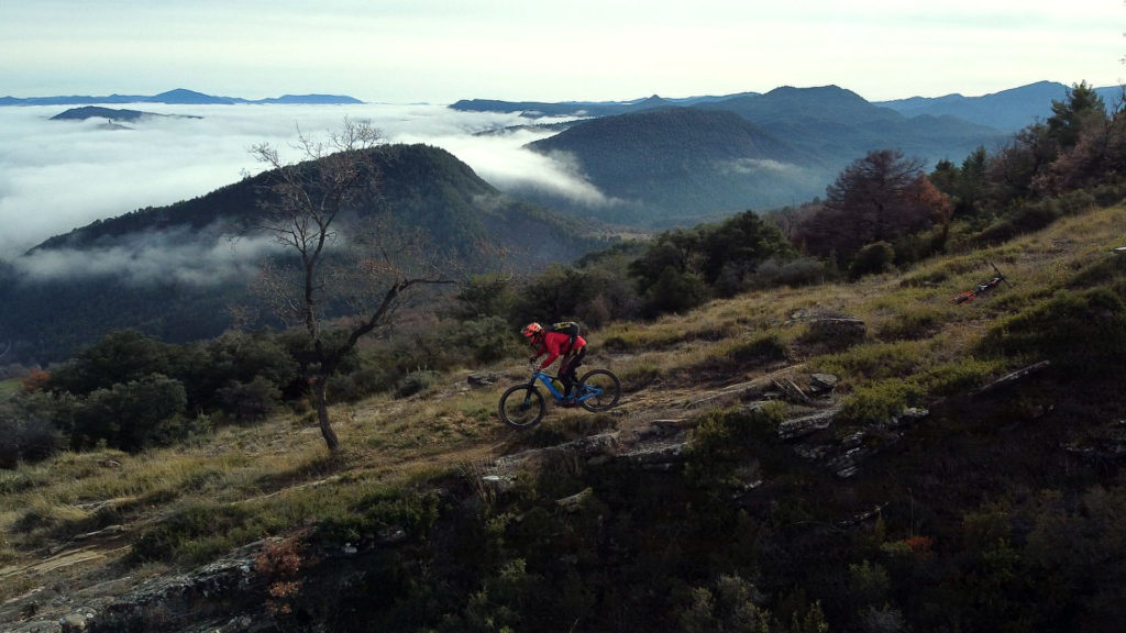 Jorge is one the few Ainsa local MTB guides
